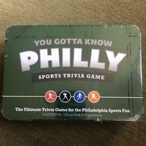 NWT Philly Sport Trivia Game